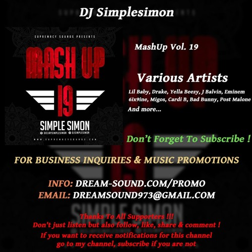 DJ Simplesimon - MashUp Vol  19 (Rap, Hip-Hop, Dancehall