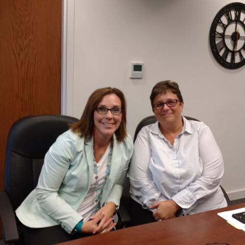 Jennifer Miller & Andrea Davis from HAND Inc.