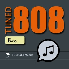 Tuned 808 Bass FL Studio Mobile Expansion