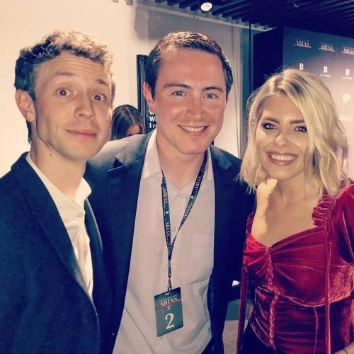 Matt & Mollie at the ARIAS #BBCR1