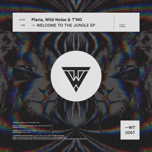 Piaria, Wild Noise & T'NG - Welcome to the Jungle (OUT NOW)