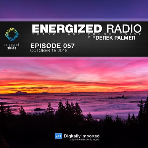 Energized Radio 057 With Derek Palmer [October 18 2018]