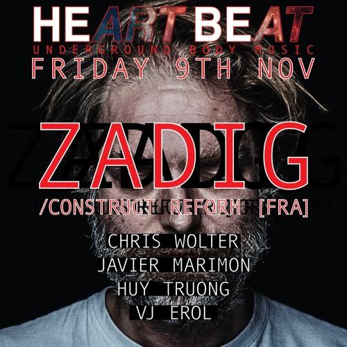Heart Beat Presents Zadig   9-11-2018 @ the Observatory