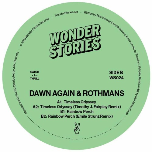 Dawn Again & Rothmans - Timeless Odyssey (Timothy J. Fairplay Remix)