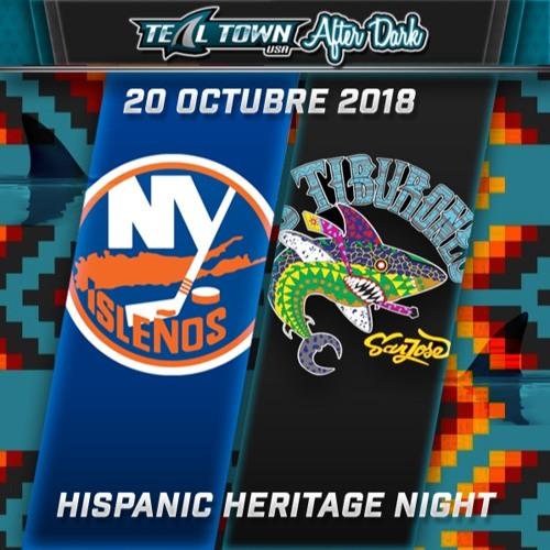 Teal Town USA After Dark (Postgame) - Sharks vs Islanders - 10-20-2018