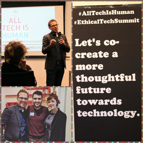 David & Joe discuss all things All Tech Is Human! It's beginnings, goals, ambitions and future
