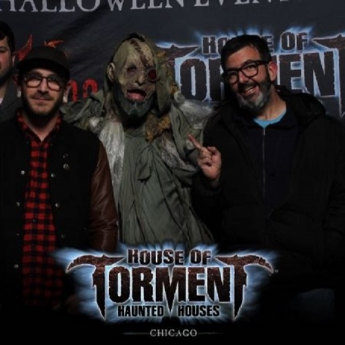 First, the horror. Then, the live performance: The Burst and Bloom at House of Torment