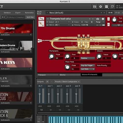 Trompetas samples para kontakt gratis de Free Trumpet