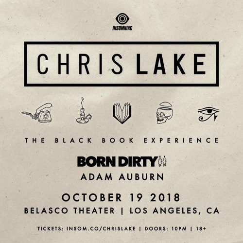 Live alongside Chris Lake (The Black Book Experience)
