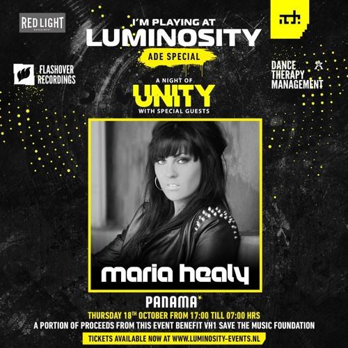 Maria Healy - Live From Luminosity / ADE Special @ Club Panama 18.10.2018