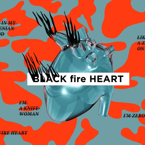 Black Fire Heart