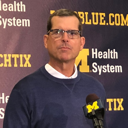 2018 - Michigan Football Jim Harbaugh Bye Week, 10-22-2018 Podcast