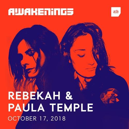 Awakenings ADE 2018   Rebekah & Paula Temple