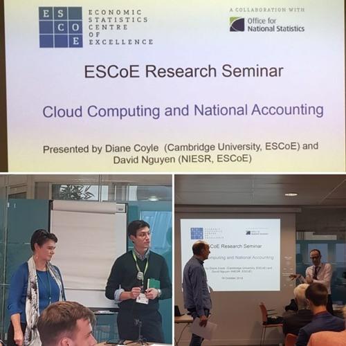 ESCoE Research Seminar - Speakers: Diane Coyle and David Nguyen