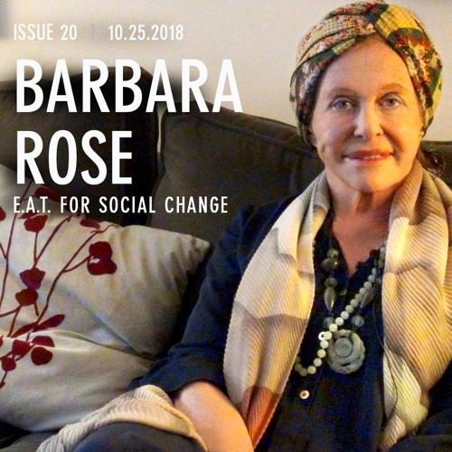 Barbara Rose; Art Historian