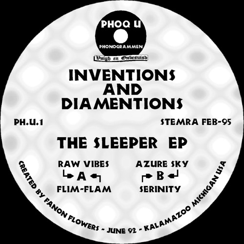 Ph.U.1 | Inventions And Diamentions – The Sleeper EP (2018 Remaster)