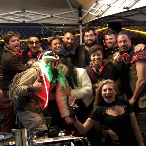 Burning Man SF Decompression 2018 Silent Disco