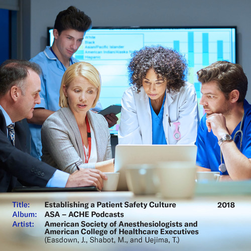 Establishing a Patient Safety Culture