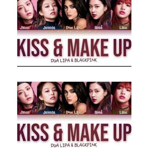 Dua Lipa Kiss And Makeup: Dua Lipa & BLACKPINK - Kiss And Make Up