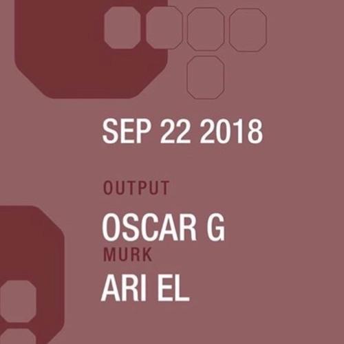 Ari El @ Output  w/ Oscar G