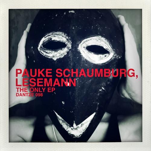 Pauke Schaumburg, Lesemann - The Only EP - DTZ098 - Dantze