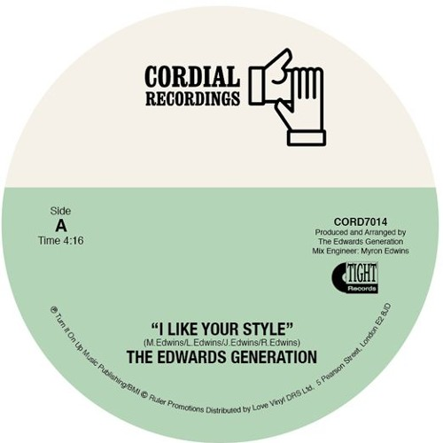 The Edwards Generation - I Like Your Style / The Love I Found In You