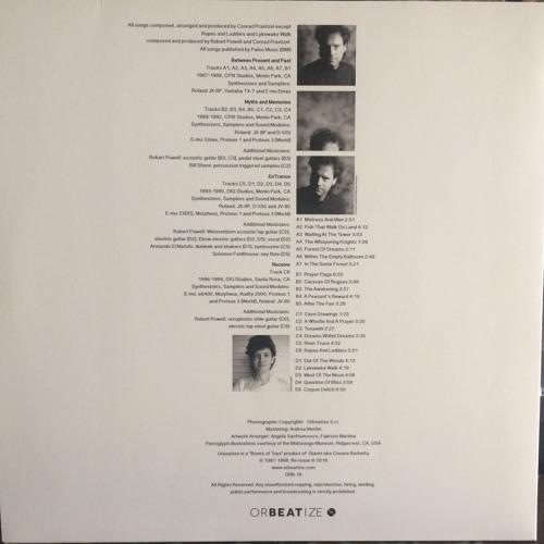 (Disc 3 of 4) ORBEATIZE [ORB-16] Conrad Praetzel – Paleo Music 1987-1998 (2xLP)