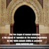The Five Stages Of Human Existence & The Impact Of 'Aqeedah On The Human Experience