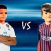 Thiago Messi vs Cristiano Ronaldo Jr 2018 ● The Future