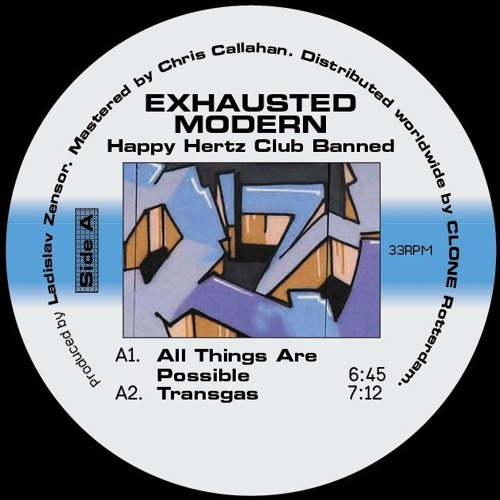 Exhausted Modern - Happy Hertz Club Banned (RET004)