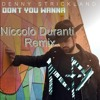 Don' t You Wanna - Denny Strickland (Remix)