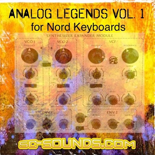 Nord Stage/Electro Analog Legends Vol.1