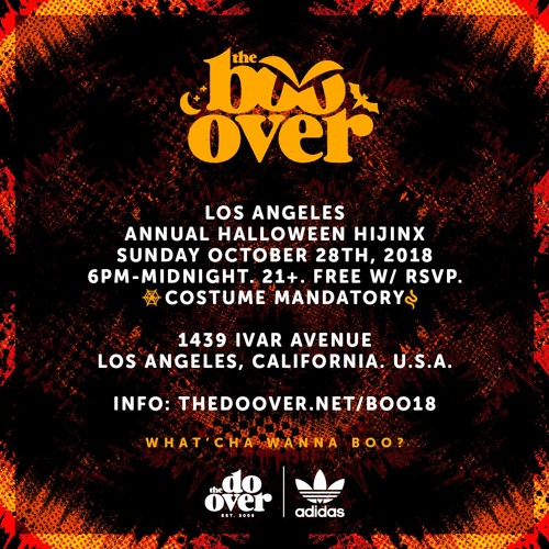 Skratch Bastid @ The Boo-Over Los Angeles (10.28.18)