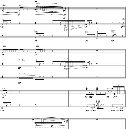 Trans - Polypnoe (2018) for 13 instruments