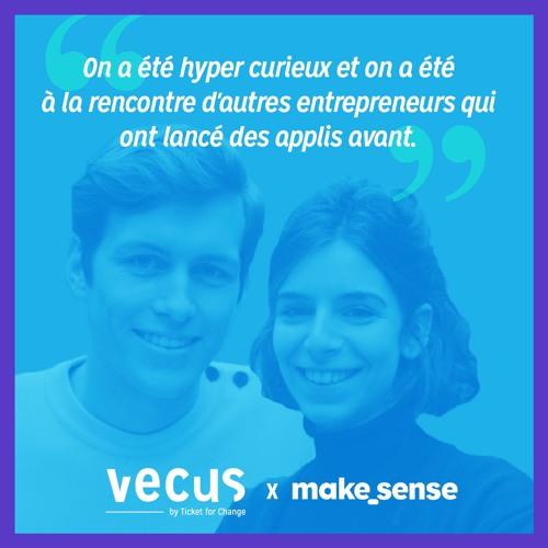 VÉCUSxMakesense- Comment acquérir des utilisateurs dès son lancement sans dépenser 1€? - Vegg'Up