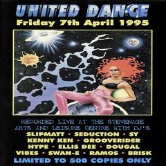DJ Brisk Feat. MC Sharkey - United Dance 07th April 1995
