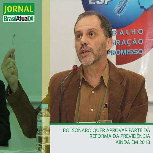 Bolsonaro quer aprovar parte da Reforma da Previdência ainda em 2018
