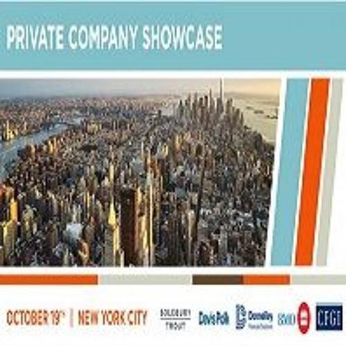 Solebury Trout Private Company Showcase