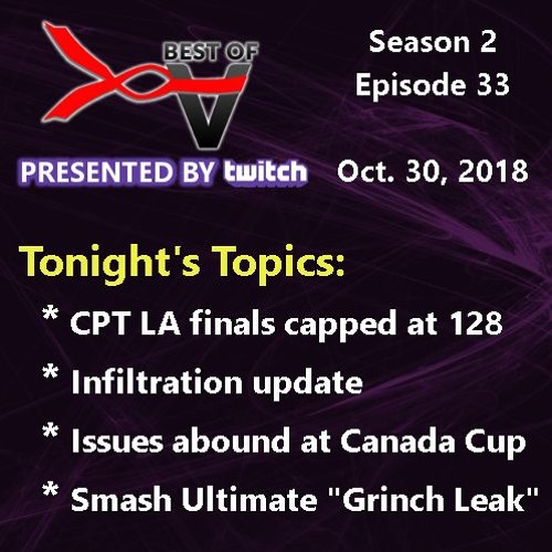 10/30/2018 - What Happened at Canada Cup?
