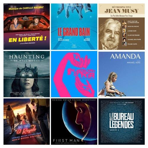 BO mensuelles (Novembre 2018) - First Man - Jean Musy - Le Grand Bain - Amanda - Morricone