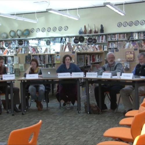Greenfield School Committee Meeting October 29, 2018