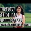 DJ Percuma Saja Bilang Sayang - Lirik Video - Remix Non Stop
