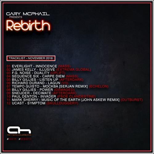 Gary McPhail - Rebirth 012 (01/11/2018) Afterhours FM