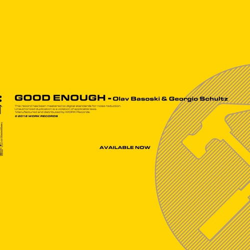 Olav Basoski & Georgio Schultz - Good Enough