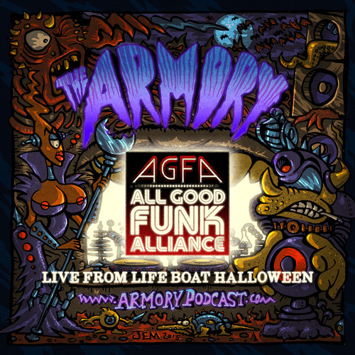All Good Funk Alliance Live from Life Boat Halloween
