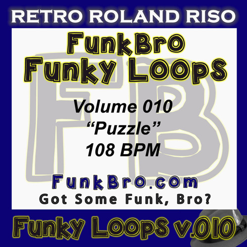 FunkBro Funky Loops v010 - Puzzle - 108BPM