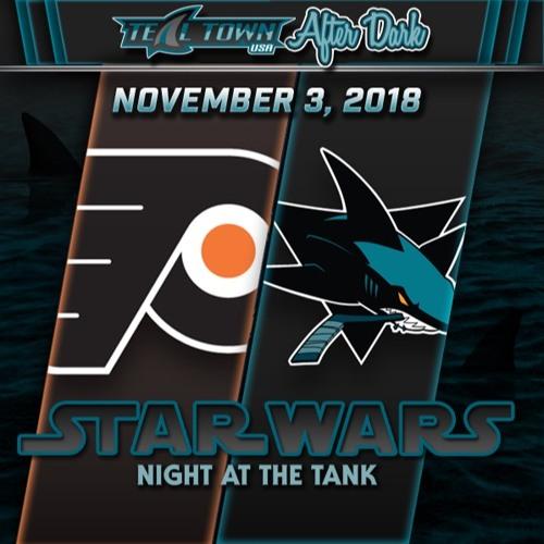Teal Town USA After Dark (Postgame) - Sharks vs Flyers - 11-3-2018