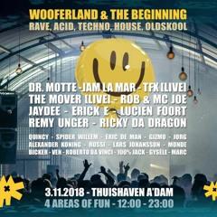 Ven @ Wooferland & The Beginning - Thuishaven - Amsterdam  2018