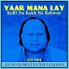 Yaar Nu Mana Lay Kulli Da Bhanwain Kakh Na Rahway Ustad Nusrat Fateh Ali Khan