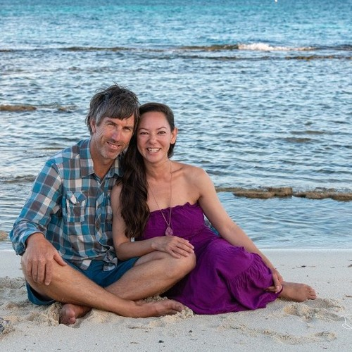 Artists Denesa Chan and Gavin Mulvay in Dry Tortugas National Park